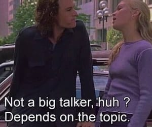 10 things i hate about you, film, and movie image