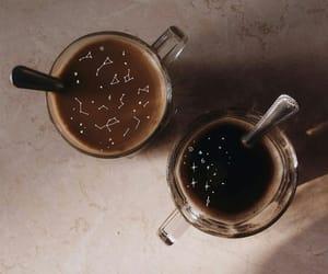 coffee, constellation, and stars image