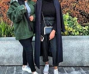 girl, hijab, and fashion image