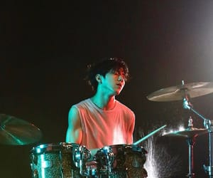 day6, dowoon, and drummer image