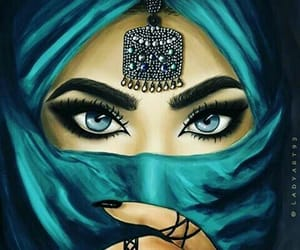 beautiful, tumblr, and arabic girls image