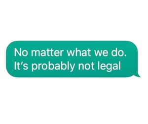 legal and text image