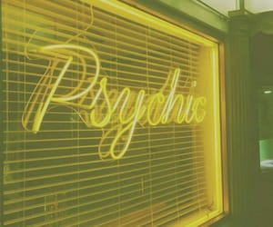 psychic and yellow image