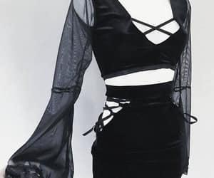 dark, goth, and alternative clothing image