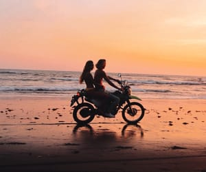alternative, beach, and couple image