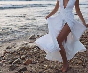 dress, white, and tuulavintage image