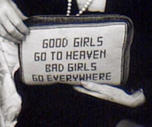 girl, heaven, and bad girls image