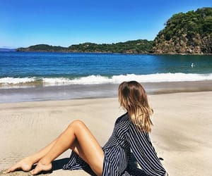 beach, costa rica, and tuulavintage image