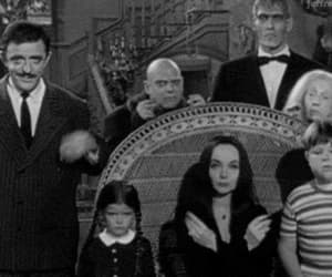 black and white, fear, and adams family image