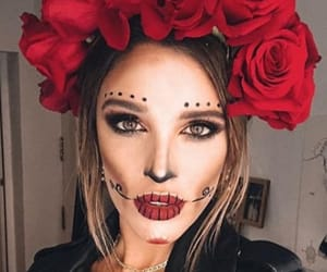 Halloween, maquillage, and mexique image
