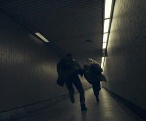 run and dark aesthetic image