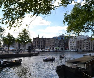 amsterdam, city, and summer image