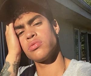 prettymuch, boy, and lips image