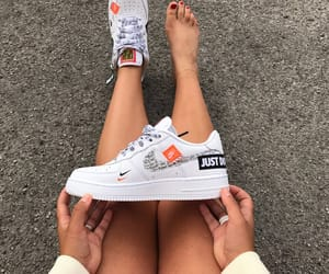 air force, nike, and air force 1 image