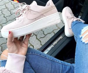 air force, air force 1, and girl image