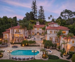 house, mansion, and luxury image