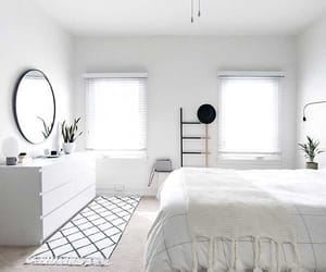 interior, bedroom, and white image