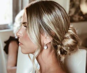 alternative, blonde, and bridal image