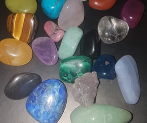 crystals and hippie image