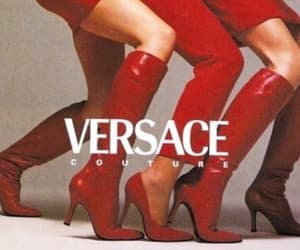 1990, 90s, and Versace image