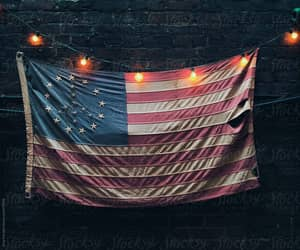 american, lights, and peace image