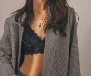 blazer, bra, and bralette image