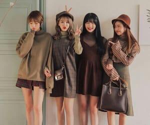 fashion, kfashion, and girls image