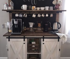 bar, coffee, and decoration image