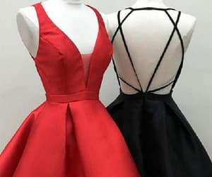 cute homecoming dresses, prom dress a-line, and homecoming dresses black image