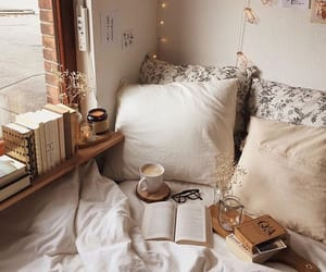 cozy, book, and home image