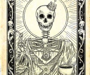 art, black, and cigarette image