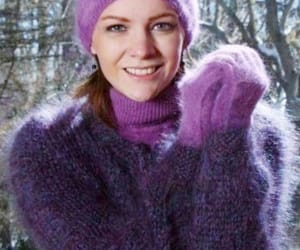 warm, violett, and cold weather image