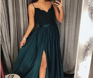 a-line prom dresses, lace prom dresses, and prom dresses long image