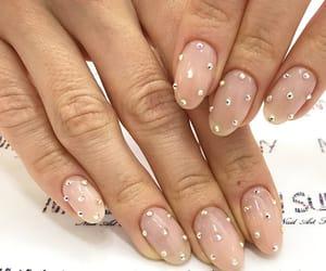 diamonds, nail art, and nail polish image