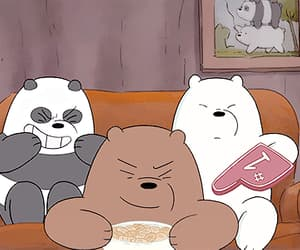 bears, cartoon, and ice bear image