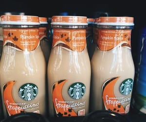 starbucks, fall, and coffee image