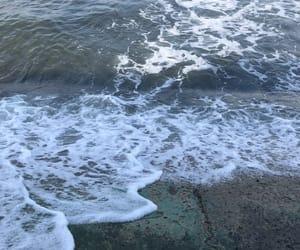 beach, sea, and malibu nights image