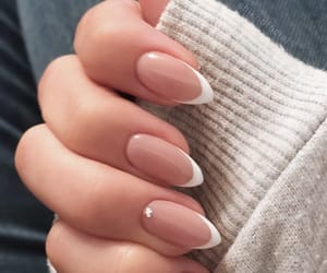 nail designs, nailsart, and frenchnails image
