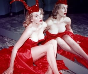 anita ekberg, Devil, and vintage image