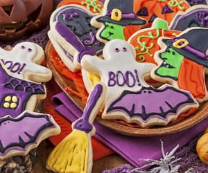 bats, broom, and Cookies image