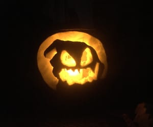 fall, ghost, and Halloween image