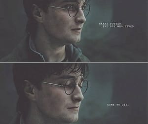 harry potter, the boy who lived, and come to die image