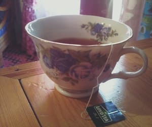 room, tea, and teacup image