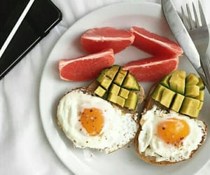 healthy, eggs, and exercise image