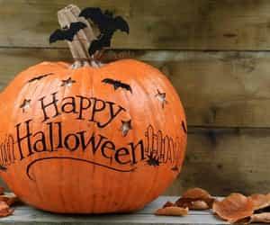 hallowee, home decor, and pumpkin image