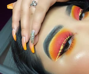 aesthetic, eyebrows, and lashes image