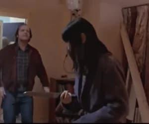 gif, The Shining, and jack nicholson image