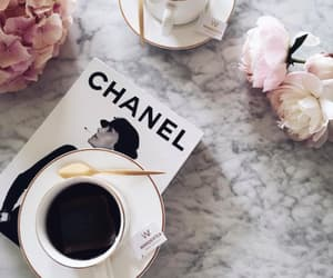 coffee, blogger, and chanel image