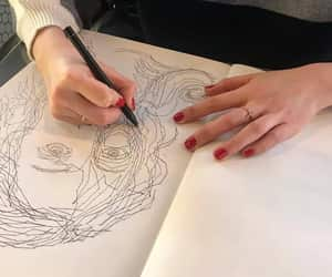 art, drawings, and goals image