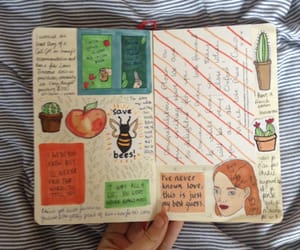 goals, cute, and journal image